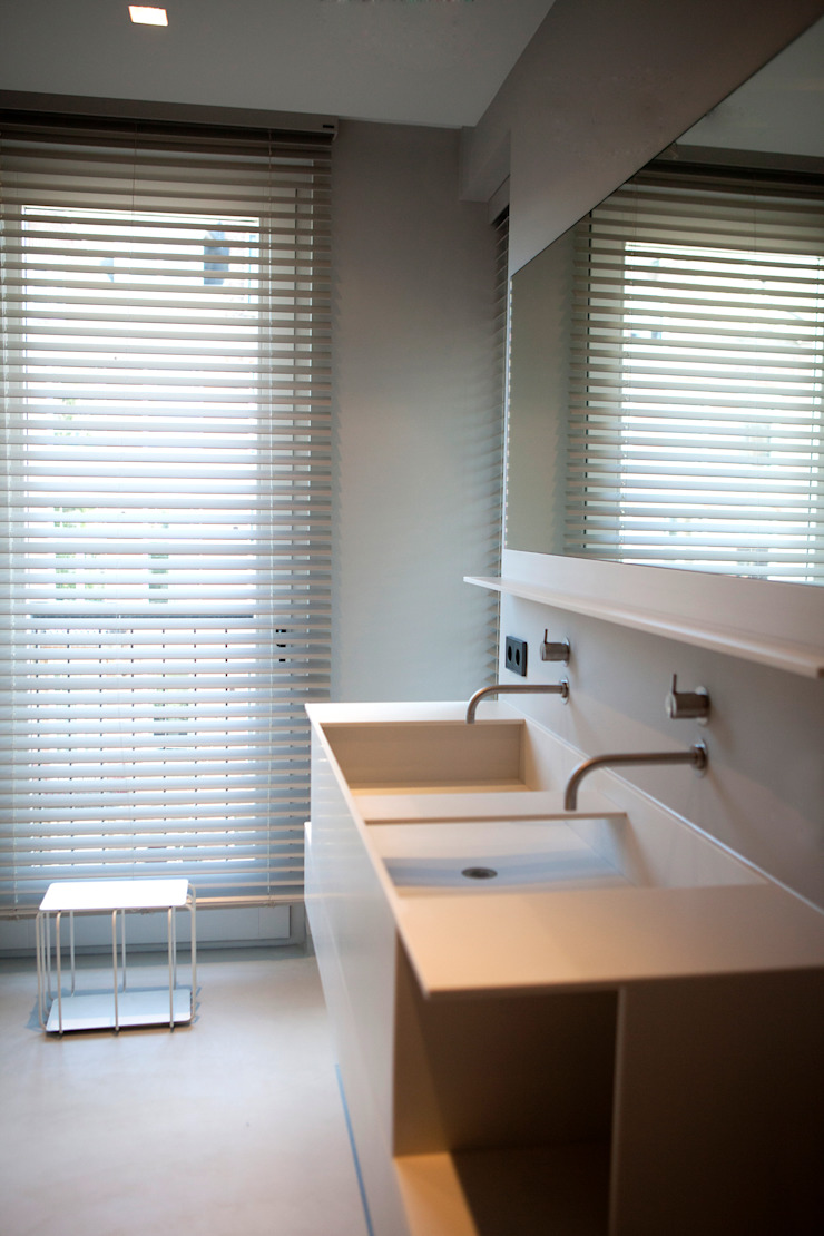 Binnenvorm Minimalist style bathroom