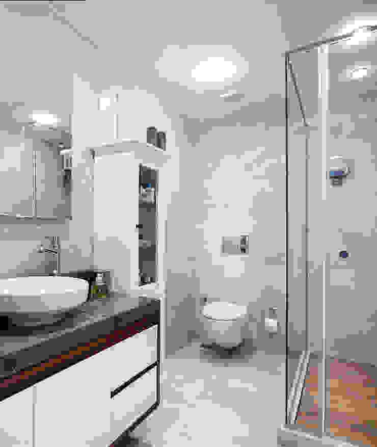 bathroom: eclectic  by Esra Kazmirci Mimarlik, Eclectic