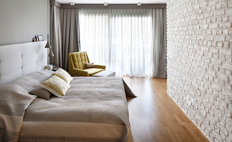 bedroom de Esra Kazmirci Mimarlik Moderno