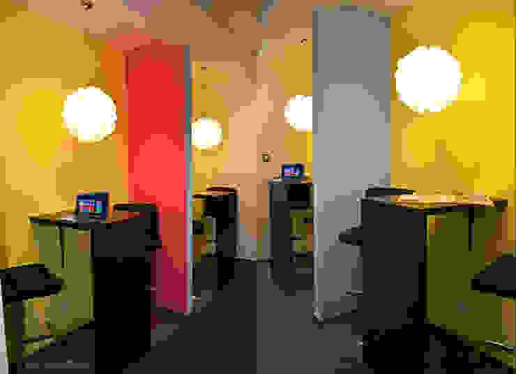 Zalubska Studio Projekt Open Spaces dla Media Com Warszawa Space 3 od Zalubska Studio Nowoczesny