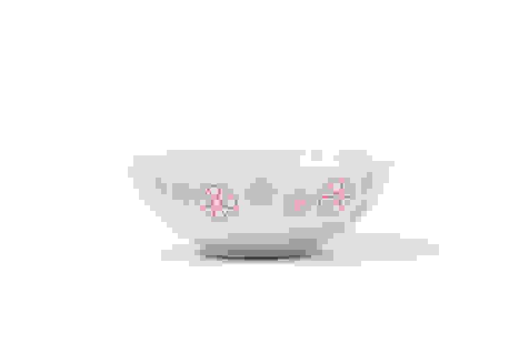 Porcelanowa miseczka Makatka Róż marki Zulana (śr.16cm) od Zulana Klasyczny