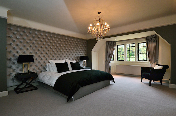 Bedroom interior by Graham D Holland Modern