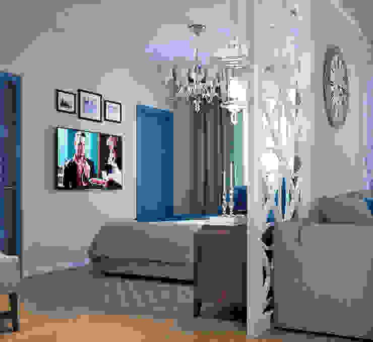 Спальная зона Спальня в скандинавском стиле от EJ Studio Скандинавский