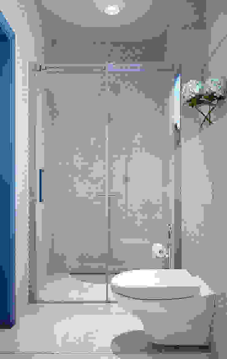 Ванная Ванная комната в скандинавском стиле от EJ Studio Скандинавский