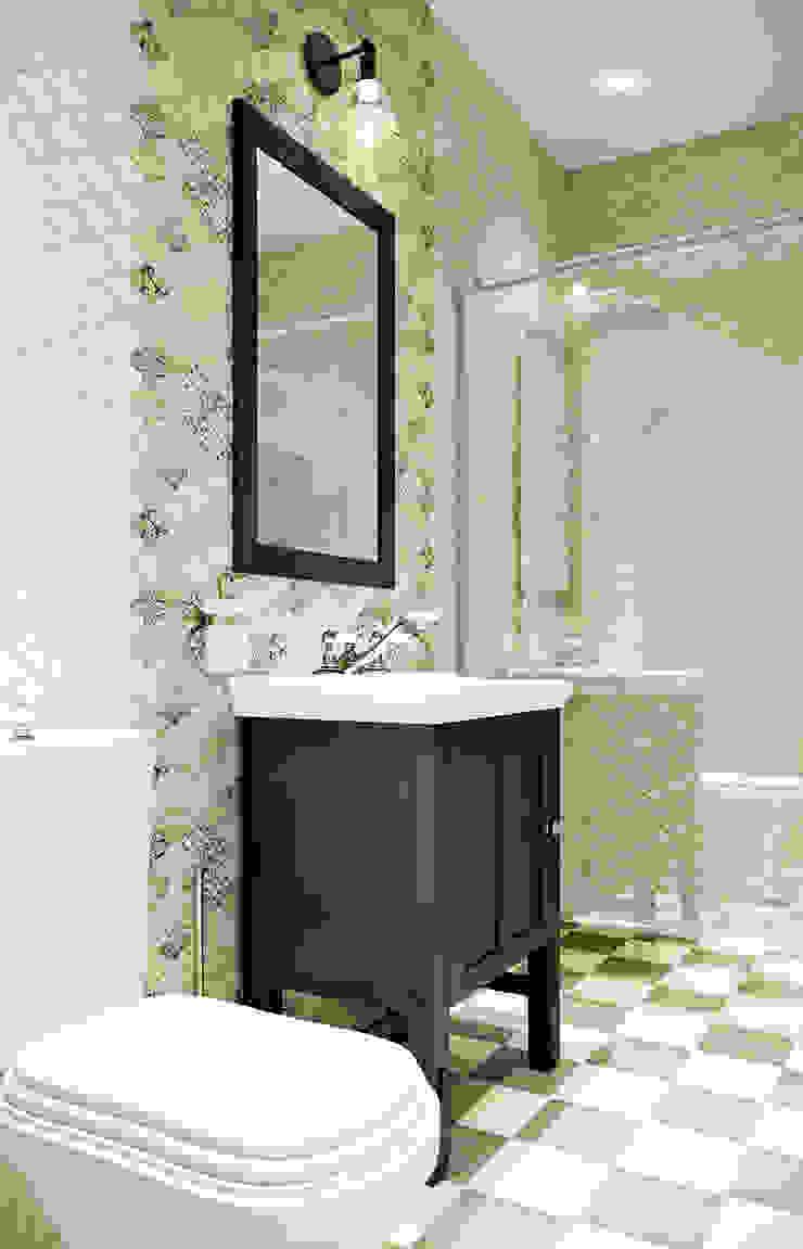 Санузел Ванная комната в скандинавском стиле от EJ Studio Скандинавский