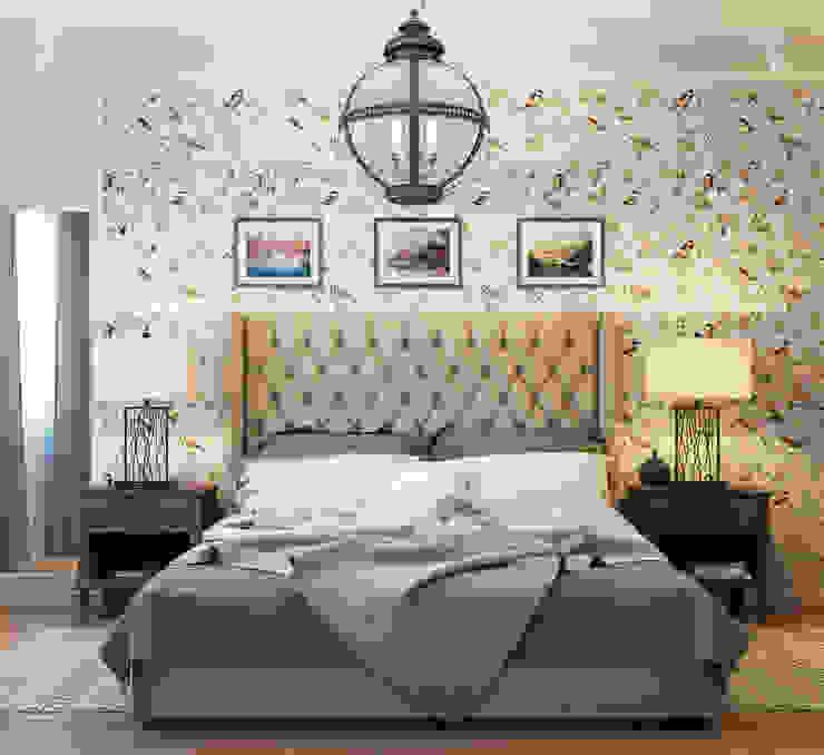 Спальня Спальня в скандинавском стиле от EJ Studio Скандинавский