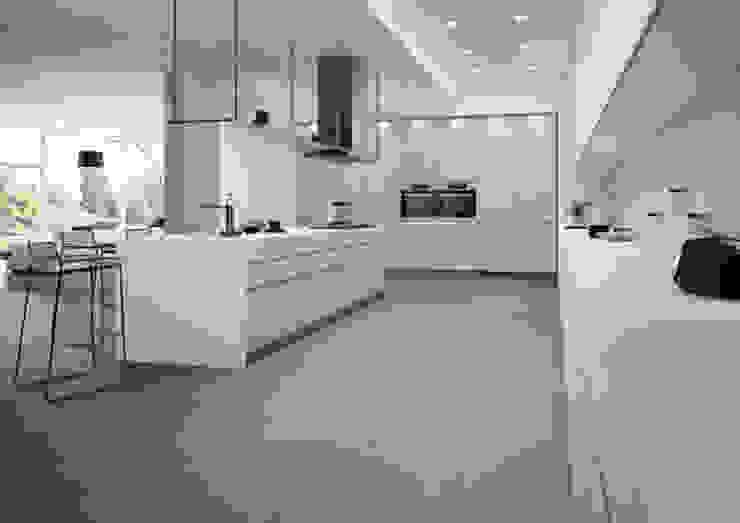 Porcelanicos Grandes Formatos Cocinas de estilo minimalista de Ceramistas s.a.u. Minimalista