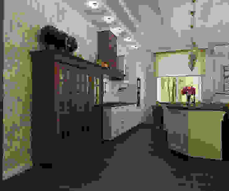 Кухня-гостинная Кухня в классическом стиле от Efimova Ekaterina Классический