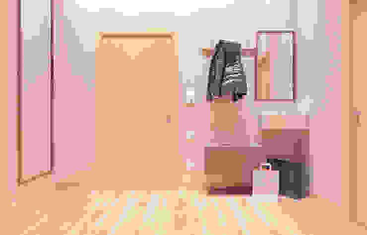 Коридор Коридор, прихожая и лестница в стиле минимализм от ISDesign group s.r.o. Минимализм