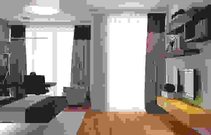 Спальная Спальня в стиле минимализм от ISDesign group s.r.o. Минимализм
