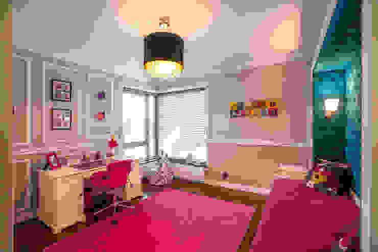Pokój dziewczynki Nowoczesny pokój dziecięcy od Viva Design - projektowanie wnętrz Nowoczesny