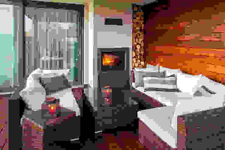Terrasse de style  par Viva Design - projektowanie wnętrz, Éclectique