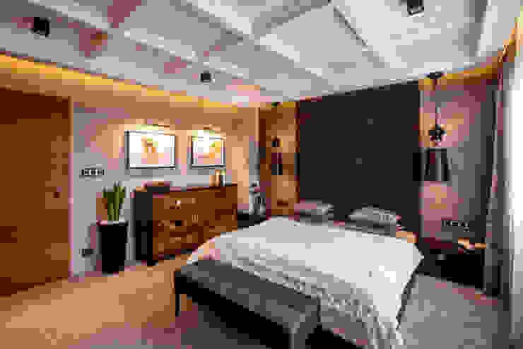 Eclectic style bedroom by Viva Design - projektowanie wnętrz Eclectic