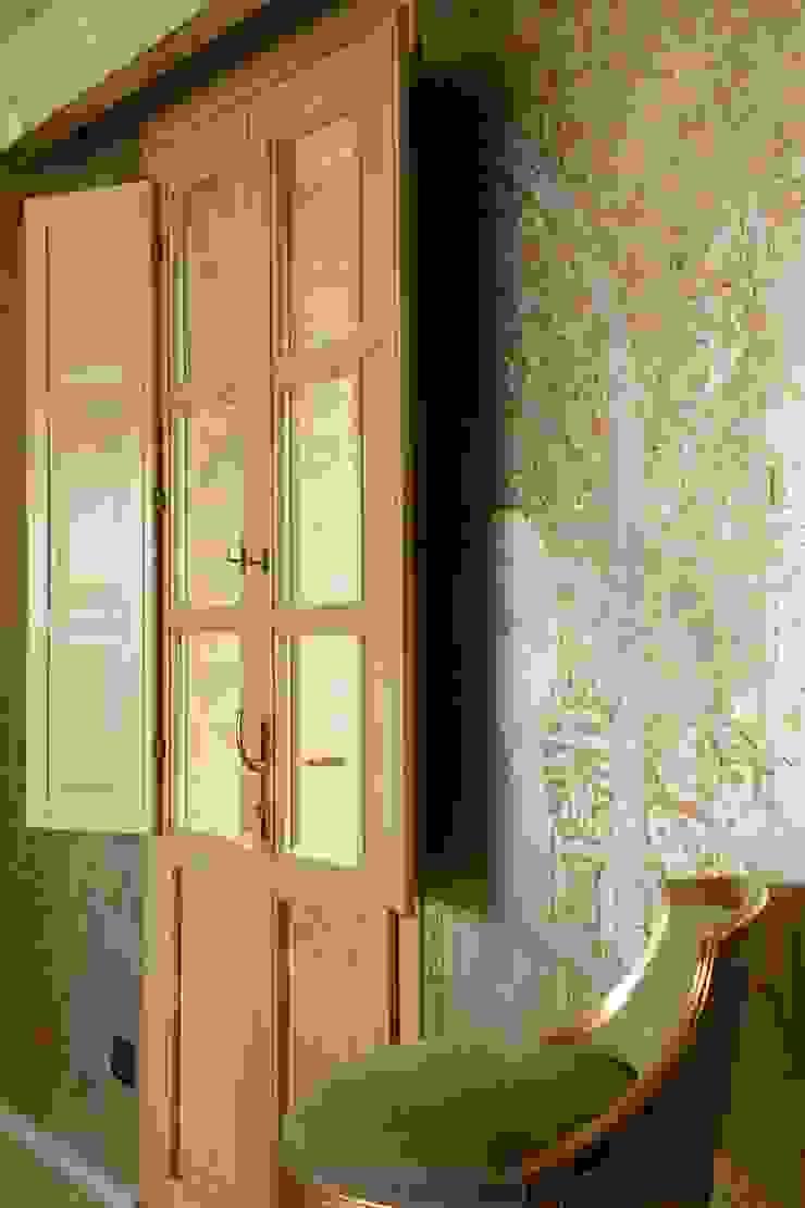 Фрагмент росписей в столовой Кухня в средиземноморском стиле от Галерея Фрейман Средиземноморский