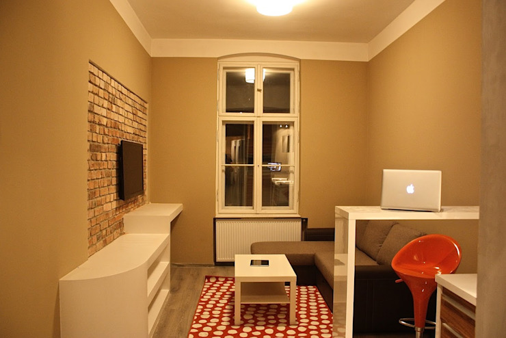 Salas de estilo moderno de Remline Jakub Skowroński Moderno