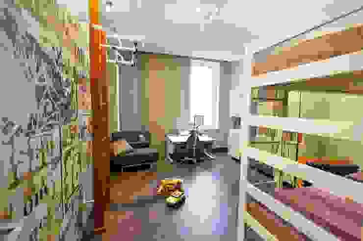 Детская комната. Детская комнатa в стиле минимализм от INTERIOR PROJECT studio Минимализм