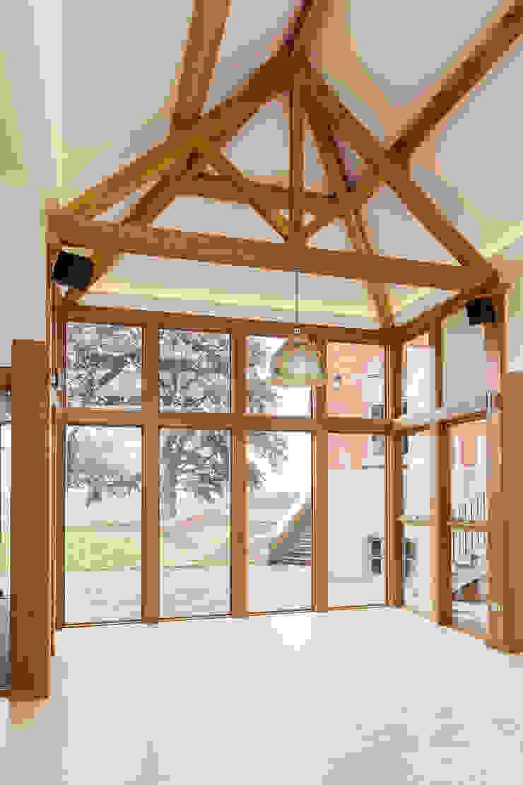Marvin aluminium clad wood fixed windows Marvin Windows and Doors UK Pintu & Jendela Modern