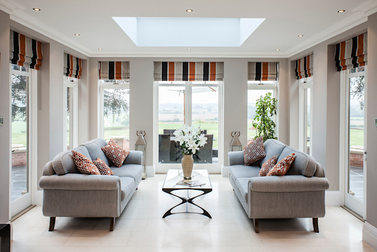 Orangery with Marvin Windows من Marvin Windows and Doors UK كلاسيكي