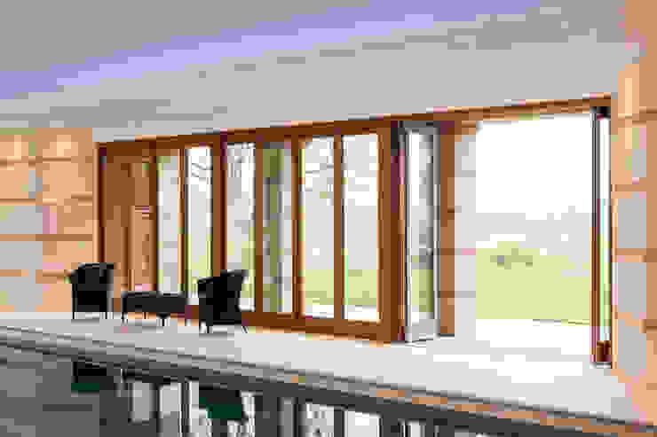 Aluminium Clad Bi fold Doors Modern windows & doors by Marvin Windows and Doors UK Modern