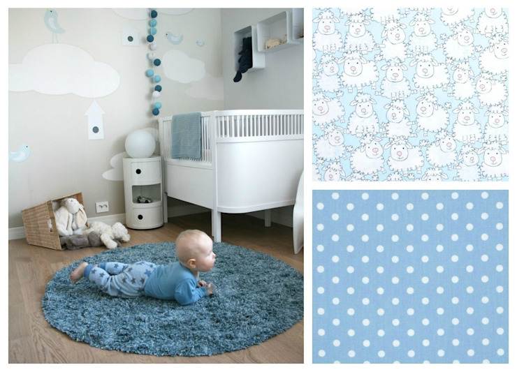 DREAMS Blue Sheep de BabyBasics Clásico