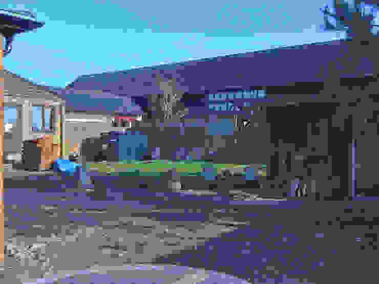 Barn Conversion Garden Before 1 by Sylvan Studio