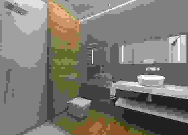 Modern Bathroom by Elena Arsentyeva Modern