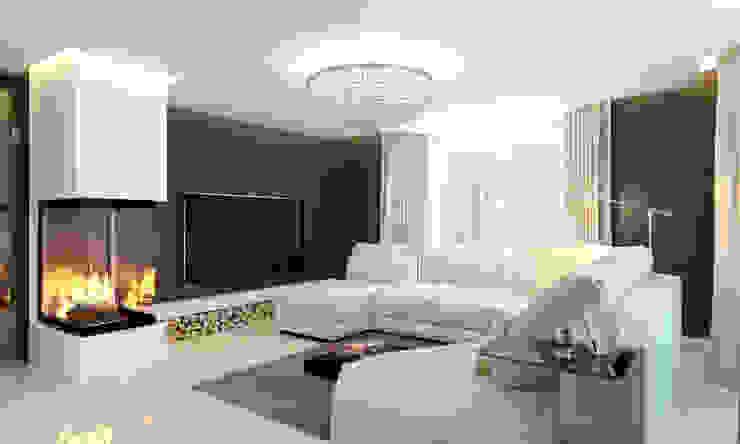 Elena Arsentyeva Modern living room
