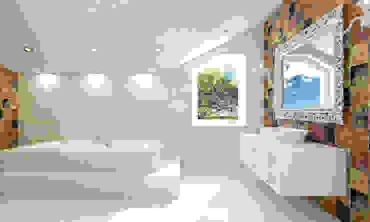 Elena Arsentyeva Classic style bathroom