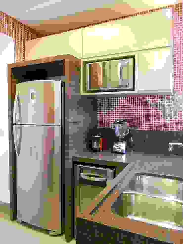 Cozinha Cozinhas modernas por Compondo Arquitetura Moderno