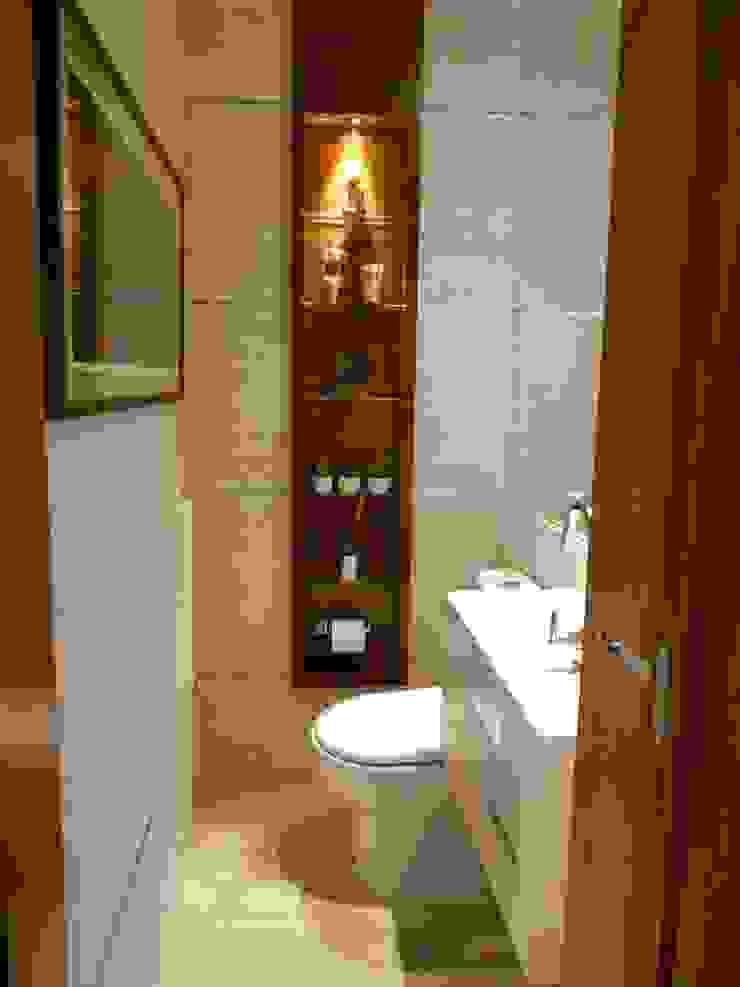 Lavabo Banheiros modernos por Compondo Arquitetura Moderno