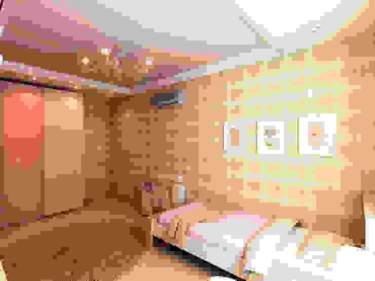 Квартира 71м2. в г.Балашиха, для молодой семьи, мамы, папы и дочери. Детская комнатa в классическом стиле от Ольга Зелинская Классический