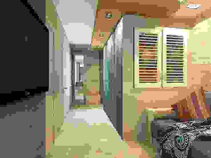 Квартира 71м2. в г.Балашиха, для молодой семьи, мамы, папы и дочери. Кухня в классическом стиле от Ольга Зелинская Классический