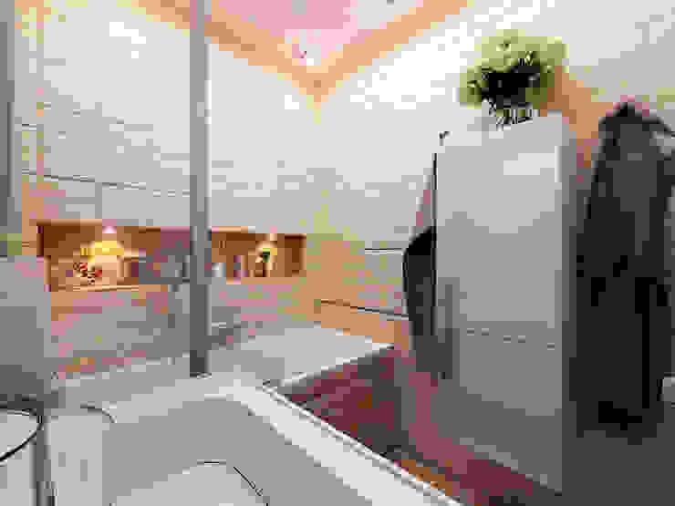 Квартира 71м2. в г.Балашиха, для молодой семьи, мамы, папы и дочери. Ванная в классическом стиле от Ольга Зелинская Классический