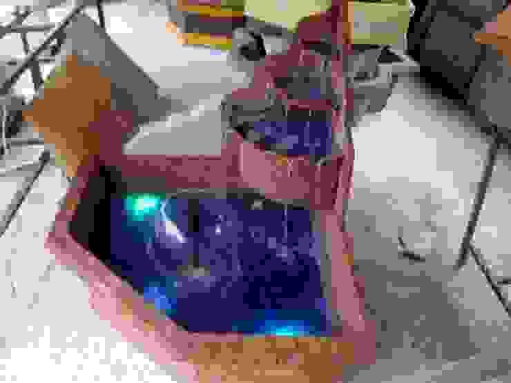 Cascade Büyük Köşe Şelale Süs Havuzu Cascade Süs Havuzu ve Fiberglas Ürünler Eklektik