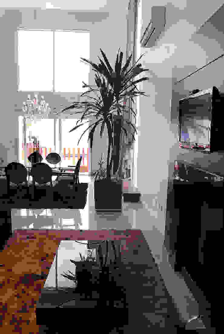 Sala de estar Salas de jantar modernas por ARQUITETURA - Camila Fleck Moderno