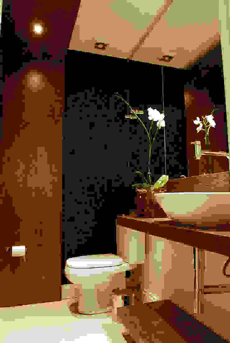 Lavabo Banheiros modernos por ARQUITETURA - Camila Fleck Moderno
