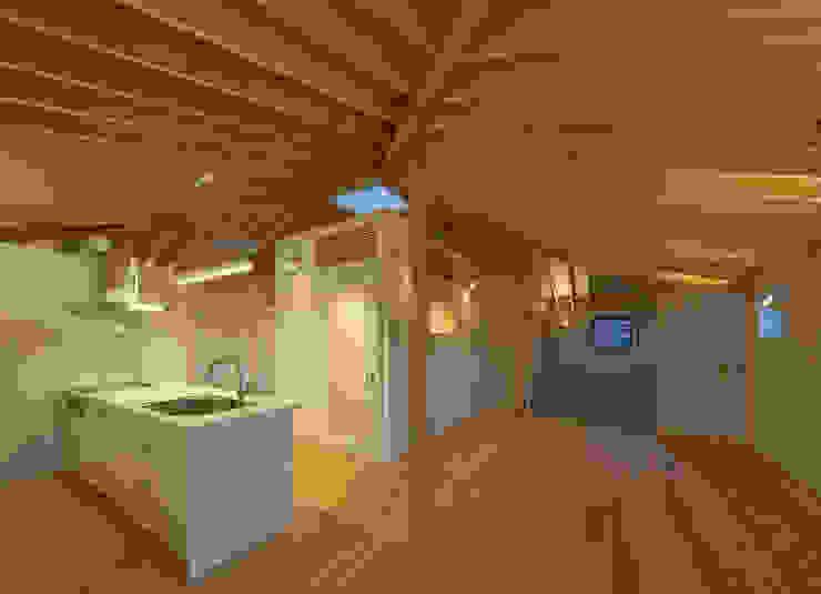 萱方の住宅 モダンな キッチン の 山口修建築設計事務所 モダン