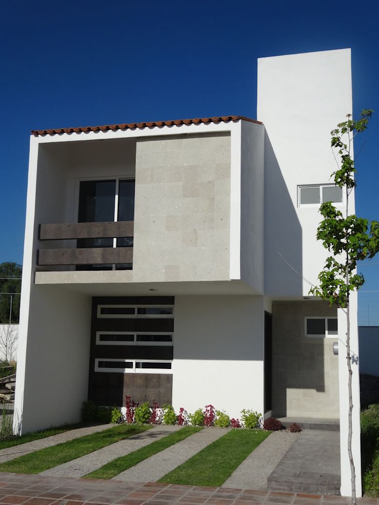 Casa Ped Casas modernas de CONSTRUCTORA ARQOCE Moderno