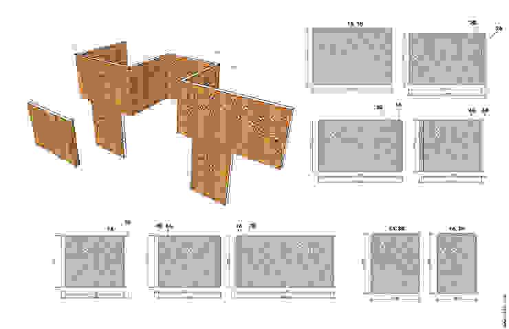 Схема декоративных ограждений от Александр Михайлик Лофт