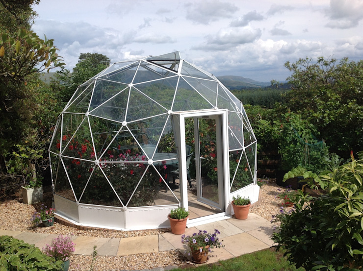 SOLARDOME Haven Modern style gardens by Solardome Industries Limited Modern