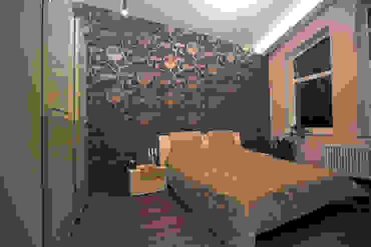 Двухуровневая квартира Спальня в стиле модерн от Александр Михайлик Модерн
