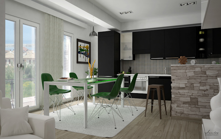 Kitchen by Santoro Design Render,