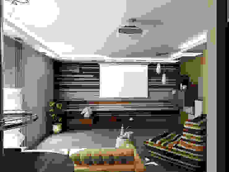 Квартира мотоциклиста Гостиная в стиле модерн от Ольга Зелинская Модерн