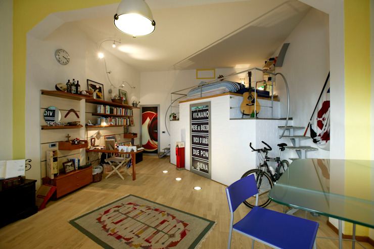Modern Living Room by Simone Grazzini Modern