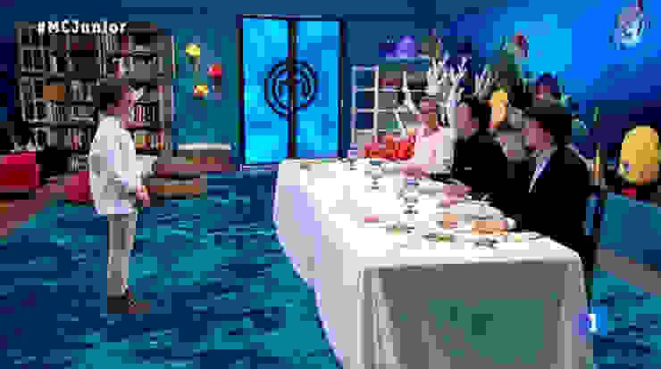 FINAL Master chef Junior 2.:  de estilo tropical de Alba Martín Vidrio Soplado, Tropical