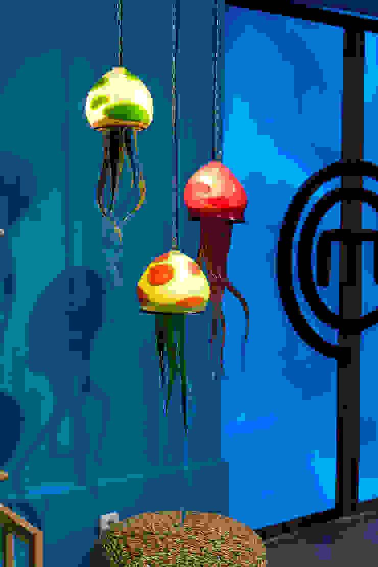 Medusas de Alba Martín Vidrio Soplado Mediterráneo