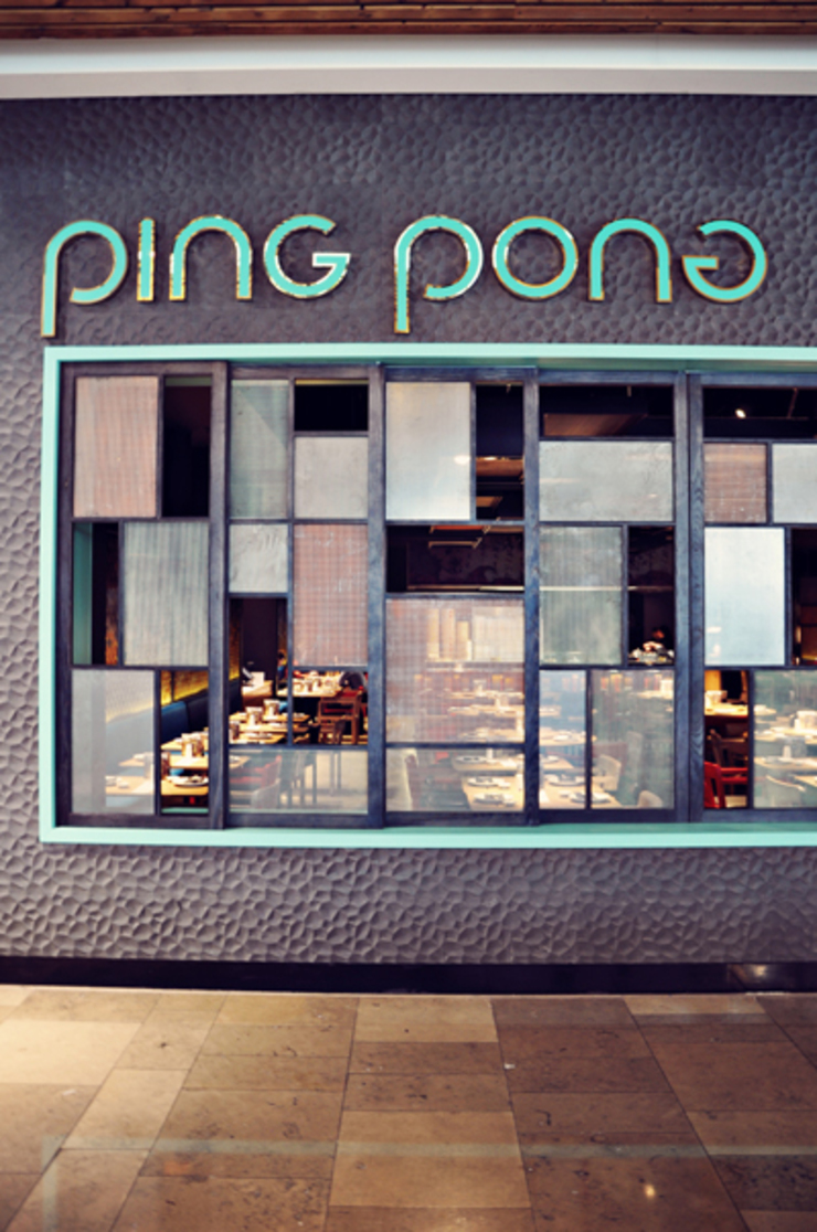 Ping Pong Stratford Asian style gastronomy by Superfutures Asian