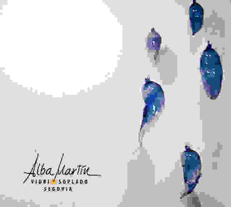 Crisálidas de Alba Martín Vidrio Soplado Moderno