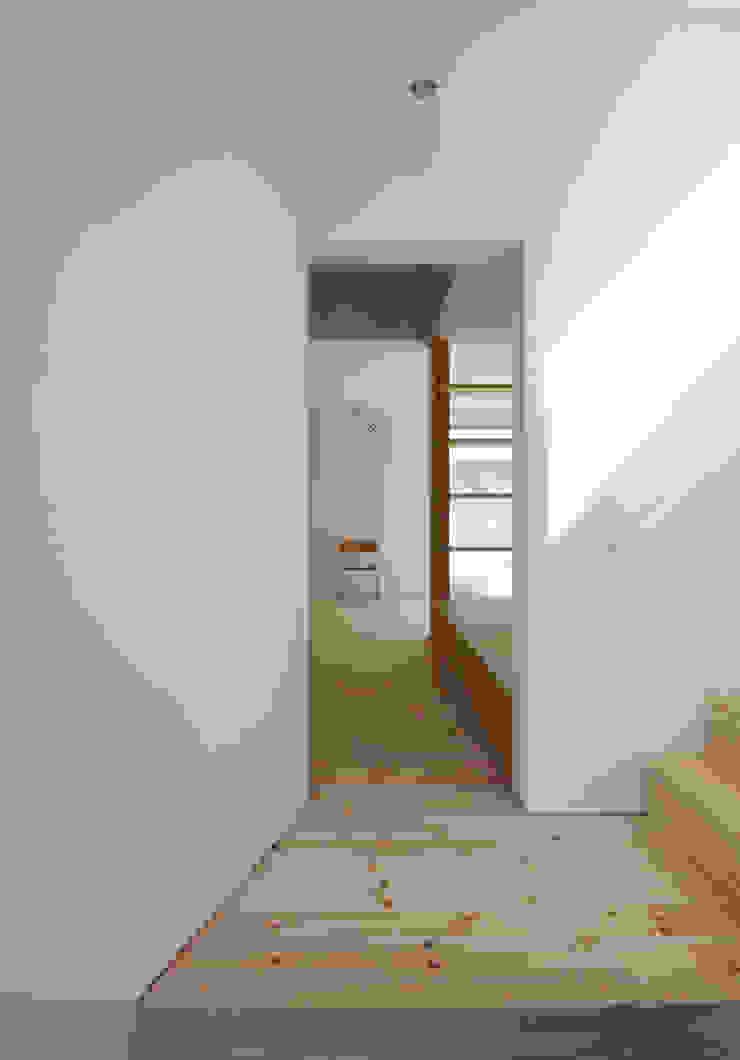 . モダンスタイルの 玄関&廊下&階段 の 嶋田忠博建築設計事務所 モダン