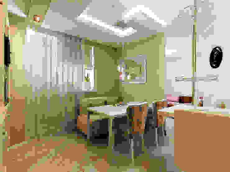 Проект в г.Балашиха МО Столовая комната в классическом стиле от Ольга Зелинская Классический
